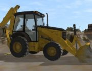 Backhoe Loader Personal Simulator